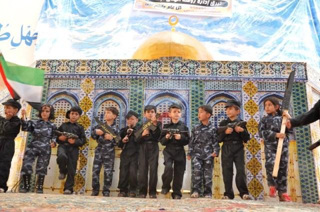 Préparation au Jihad des enfants arabes de Gaza et Judée-Samarie