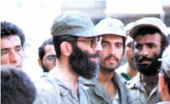 Ali Khamenei durant la guerre Iran-Irak