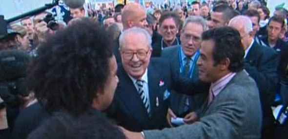 Dieudonné, Farid smahi et JM le Pen, nov. 2006