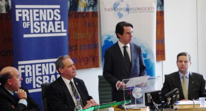 Colloque : José Maria Aznar, présente la «valeur ajoutée et stratégique» d'Israël, à des membres de l'UE.