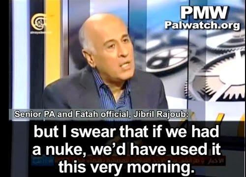Jibril Rajoub, membre du Comité Central du Fatah et ancien commandant des forces de sécurité palestiniennes. (Source de l'image : Palestinian Media Watch)