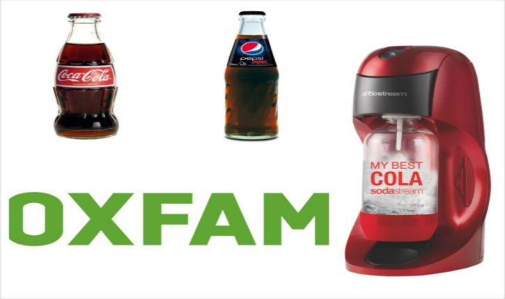 pourquoi oxfam se bat contre sodastream car oxfam est financ par coca cola le blog de noach. Black Bedroom Furniture Sets. Home Design Ideas
