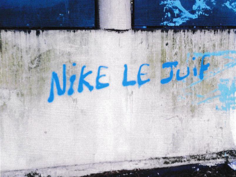 """Tags antisémites sur la synagogue de garches: """"nike les juifs"""""""