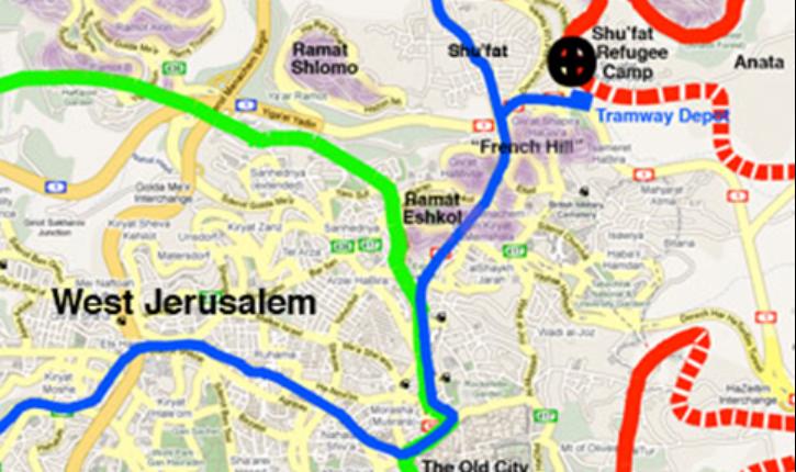 Israël a fait un appel d'offre pour la construction du Tramway de Jérusalem, qui a été remporté par les entreprises françaises Veolia et Alstom. Le Tramway a été mis en service en 2011, et traverse la ville jusqu'à Jérusalem Est et les territoires disputés