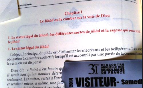 Le djihad pr sent au salon du bourget 2014 europe - Bourget salon musulman ...