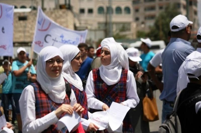 La visite du Pape à Bethléem a coïncidé avec une campagne palestinienne contre une école chrétienne de Jérusalem-Est.