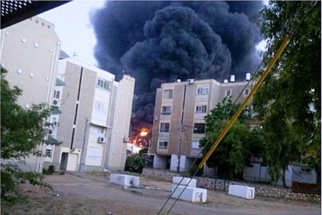 Fire-in-Sderot