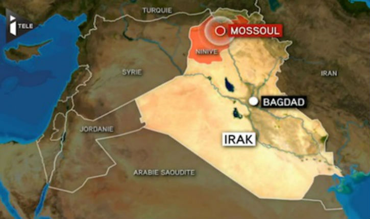 Vidéo : L'Irak sous le feu islamiste (Prise de Ninive) : bravo Obama !
