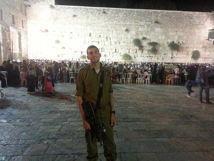 Soldat d'Israel, un honneur.