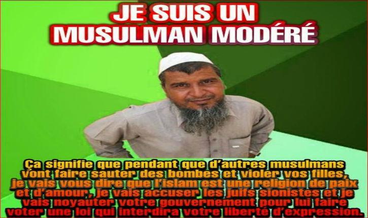 Ce fameux islam modéré tant célébré par les médias…
