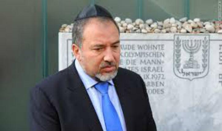 Avigdor Liberman Ministre israélien des Affaires Étrangères