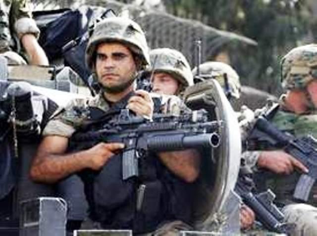soldat de l'armée libanaise