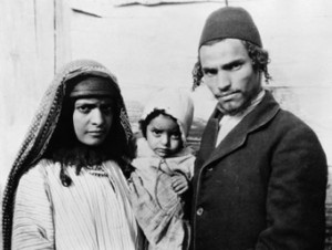 famille de juifs yéménites vers 1920