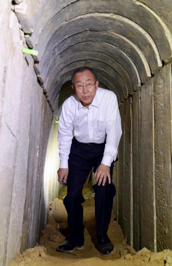 tunnel Ban Ki Moon