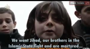 Capture d'écran de l'une des vidéos du site (fermé) mon islam.com