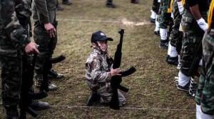 Des soldats de moins de dix ans