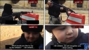« Les infidèles ? … Nous les massacrerons… c'est la volonté d'Allah ! » (capture d'écran).