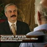 Joseph Farah est journaliste Arabe Américain