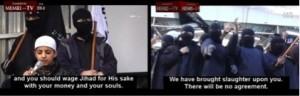 Cérémonie publique en l'honneur du jihad : « les enfants parlent aux enfants. »