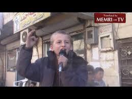 enfant jihadiste pendant une cérémonie de rue