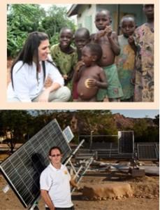 Des israéliens en Afrique:  Sivan Borowich Ya'ari, Yosef Abramowitz