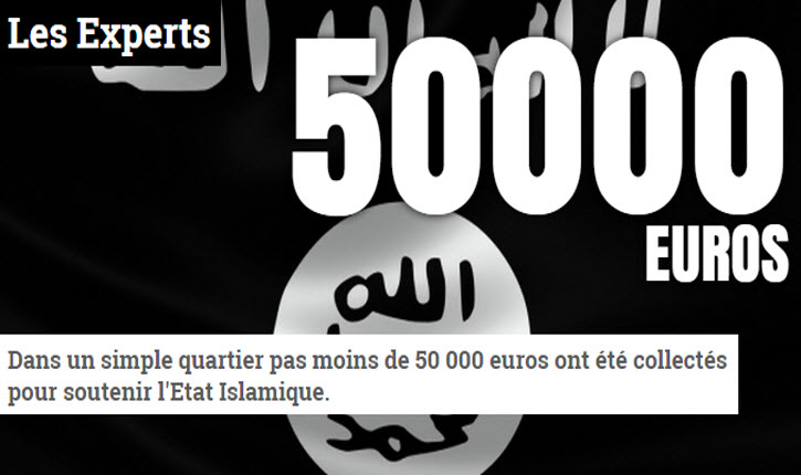 Djihad : Au bas mot, 125 000 militants actifs de l'Etat islamique dans nos banlieues