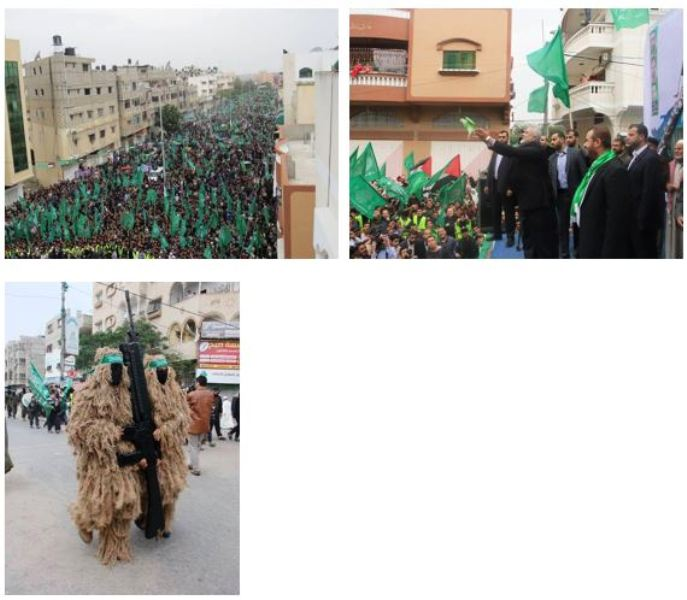 Gaza parade1