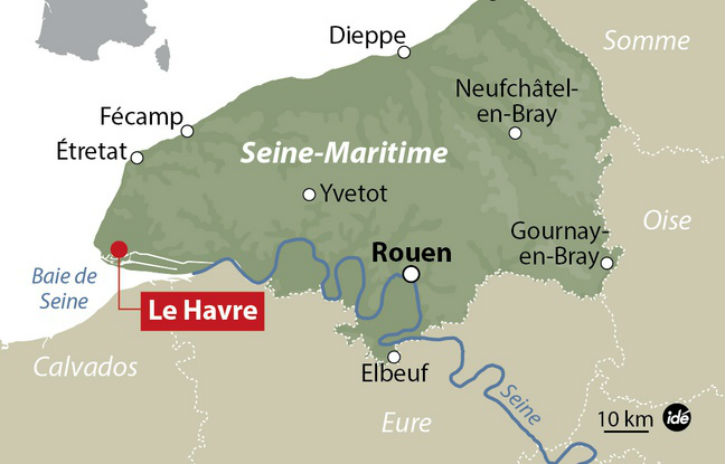 Le Havre: un forcené en train de poignarder un passant abattu par la police. Fait divers ou un «déséquilibré» pas islamiste du tout ?