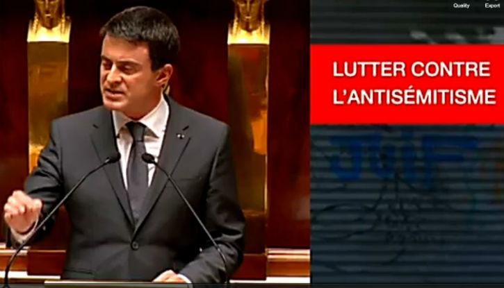 [Vidéo] – Discours intégral de Manuel Valls à l'Assemblée nationale en hommage aux victimes des attentats